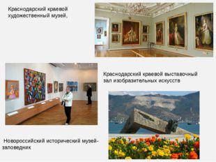 Краснодарский краевой художественный музей, Краснодарский краевой выставочный