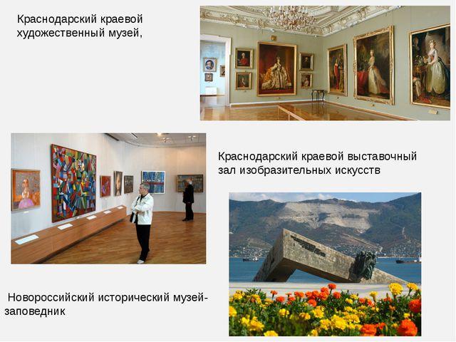 Краснодарский краевой художественный музей, Краснодарский краевой выставочный...