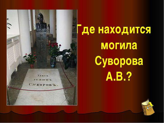 Как называется книга, в которой Суворов А.В. изложил свои взгляды по вопросам...