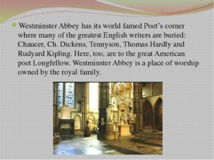 The church was the site of a number of important historic events such as the