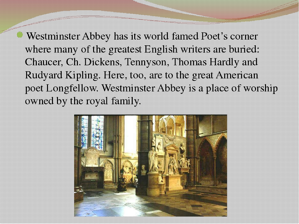 The church was the site of a number of important historic events such as the...