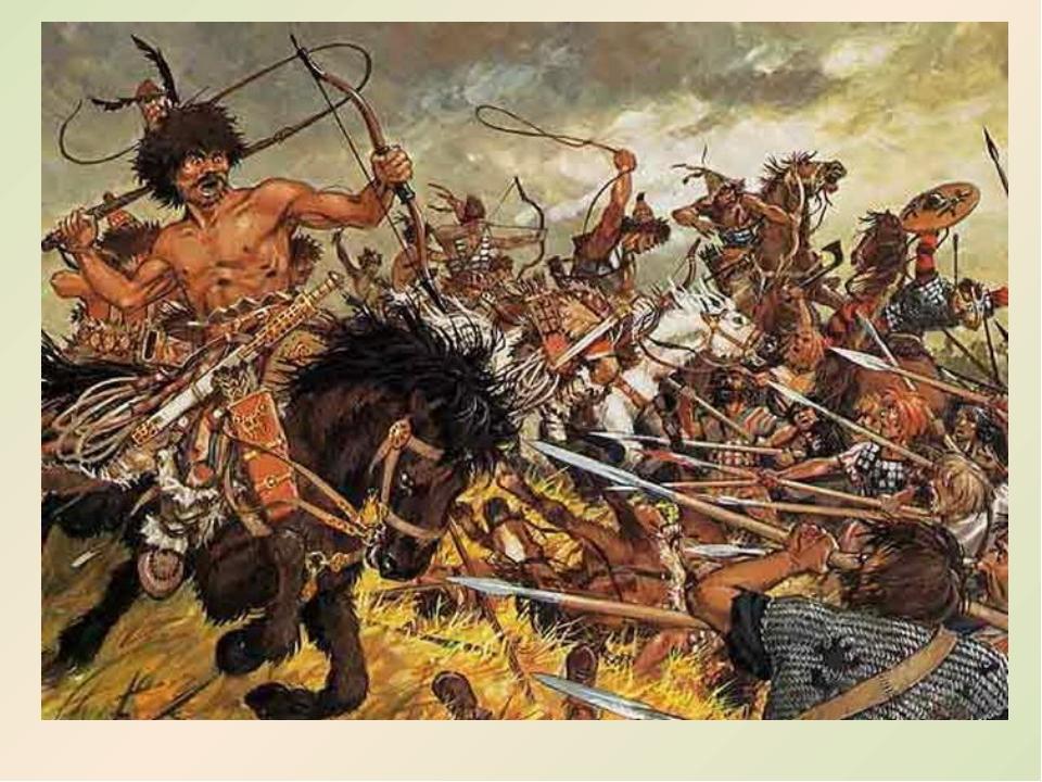 Тяжёлым испытанием для народов Таврики было вторжение во второй половине IV...