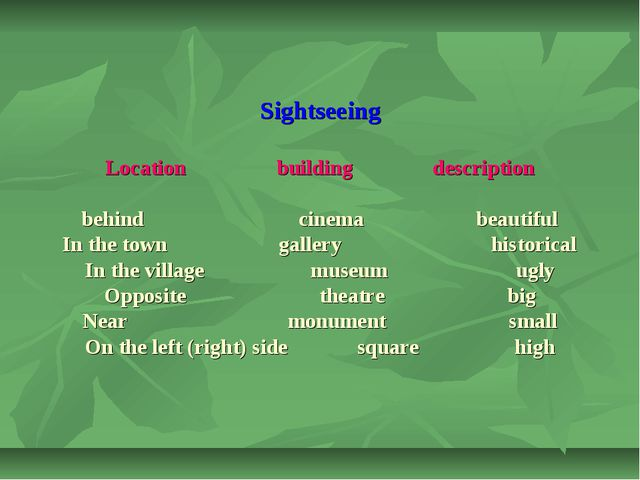 Sightseeing Location building description behind cinema beautiful In the tow...