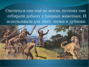 Медина Мекка Охотиться они ещё не могли, поэтому они отбирали добычу у хищных