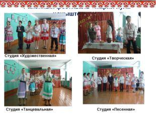 Районный фестиваль «Марий йула чоныштем ила» Студия «Художественная» Студия «