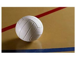 Команда, на чьей половине мяч коснётся площадки, проигрывает, и её соперник п