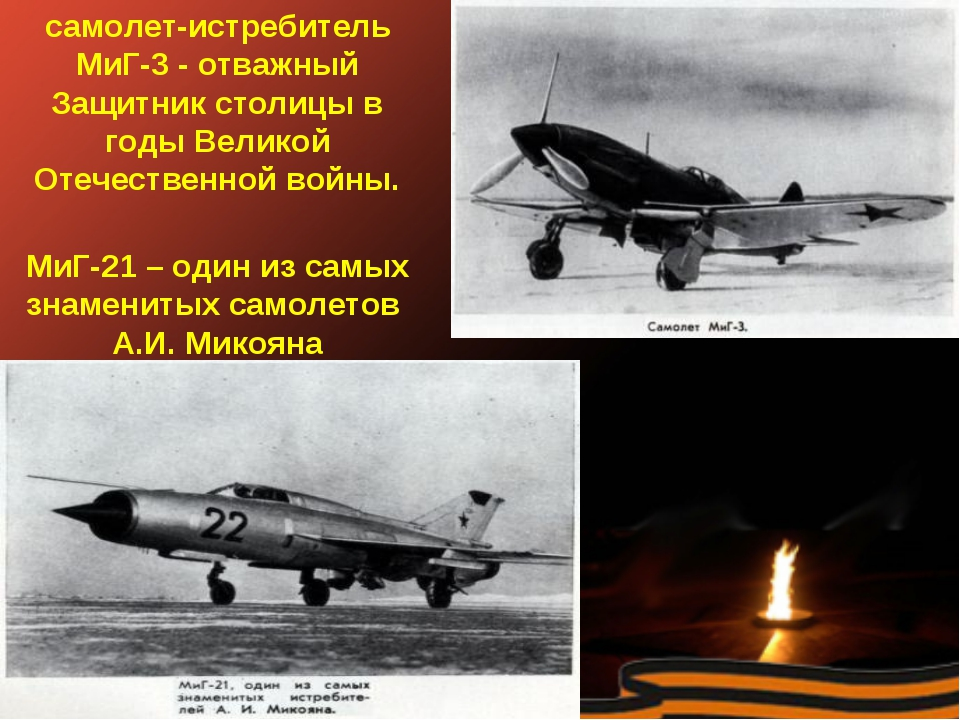 самолет-истребитель МиГ-3 - отважный Защитник столицы в годы Великой Отечеств...