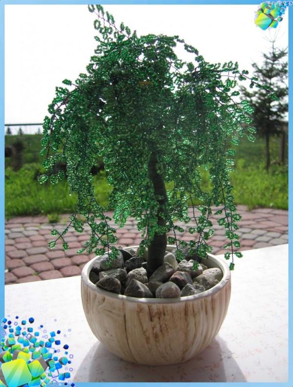 Бисероплетение деревья ива - Делаем фенечки своими руками