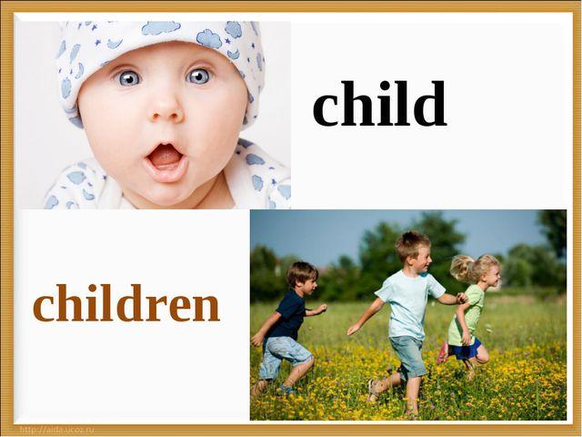 * child children