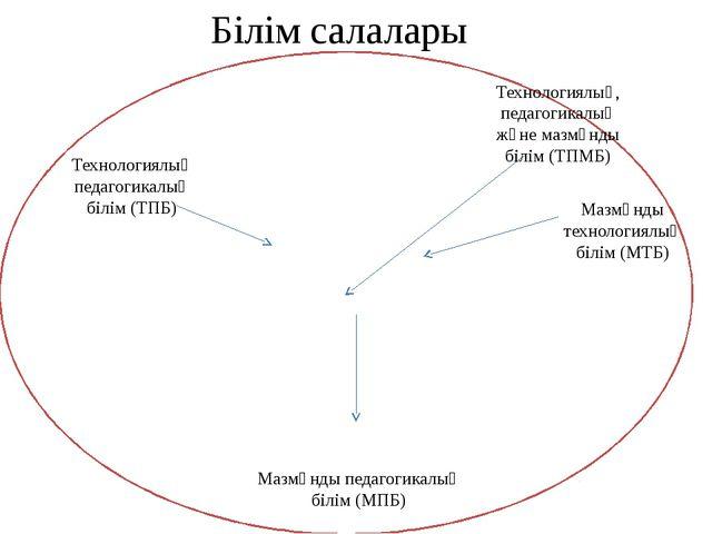 Технологиялық педагогикалық білім (ТПБ) Технологиялық, педагогикалық және ма...