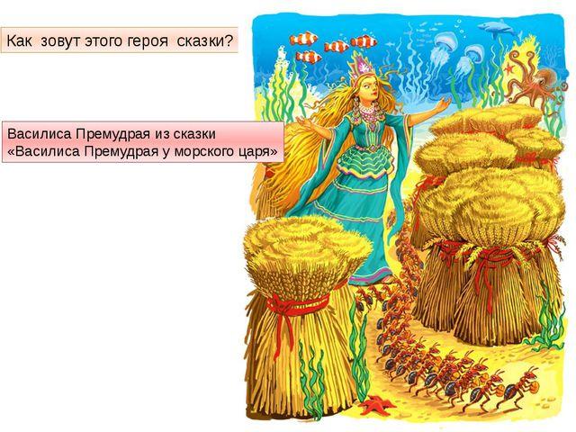 Как зовут этого героя сказки? Василиса Премудрая из сказки «Василиса Премудра...
