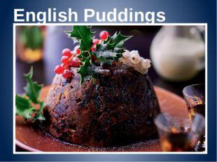 English Puddings