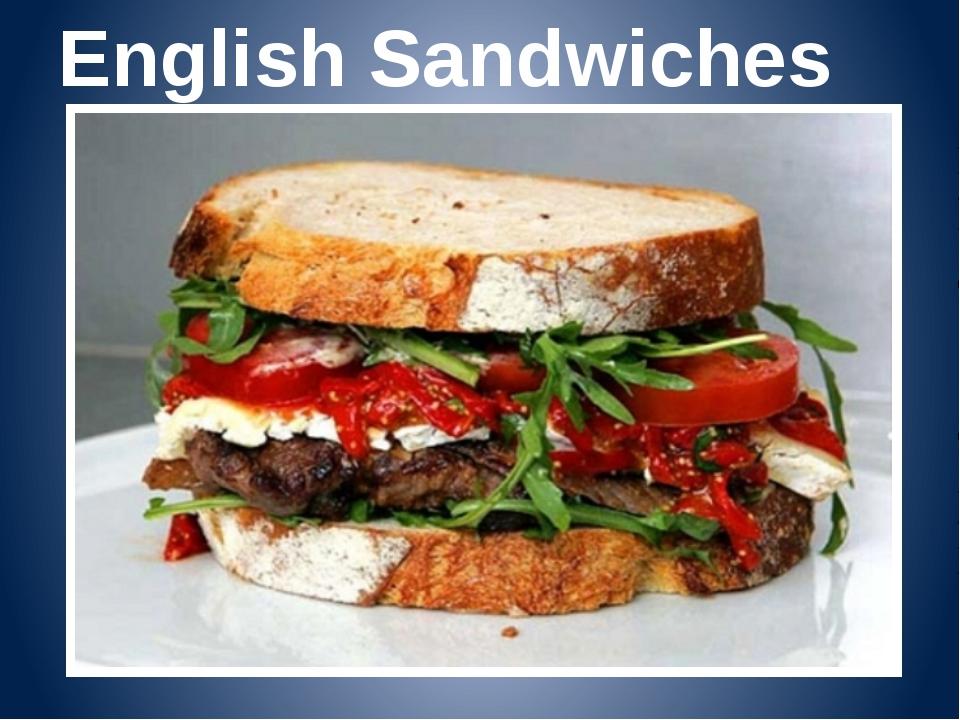 English Sandwiches