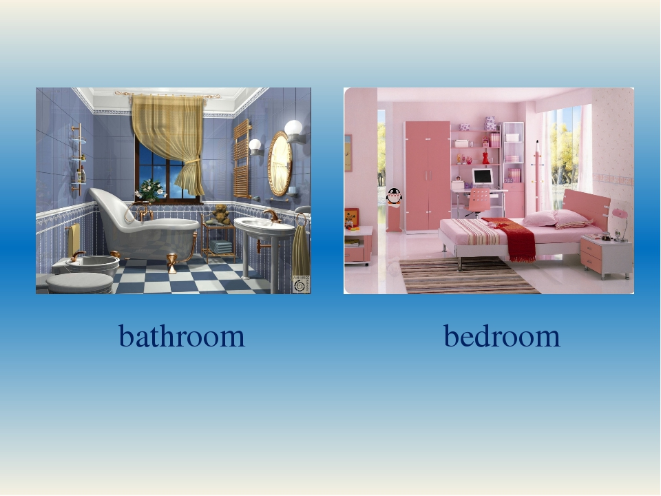 bathroom bedroom