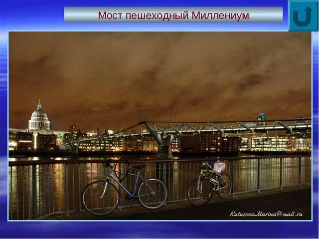 Мост пешеходный Миллениум