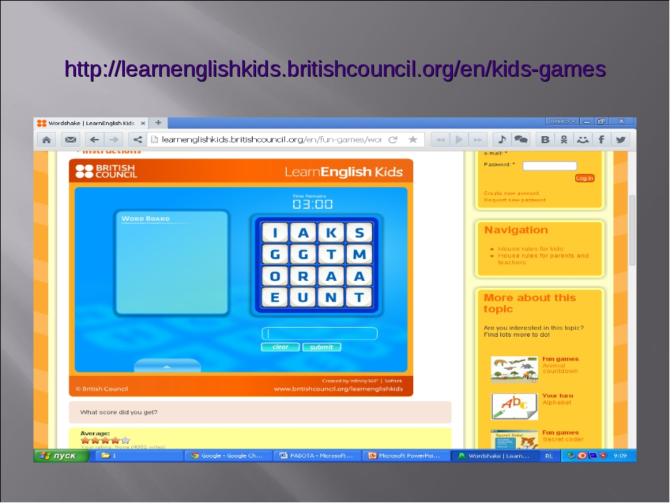 http://learnenglishkids.britishcouncil.org/en/kids-games
