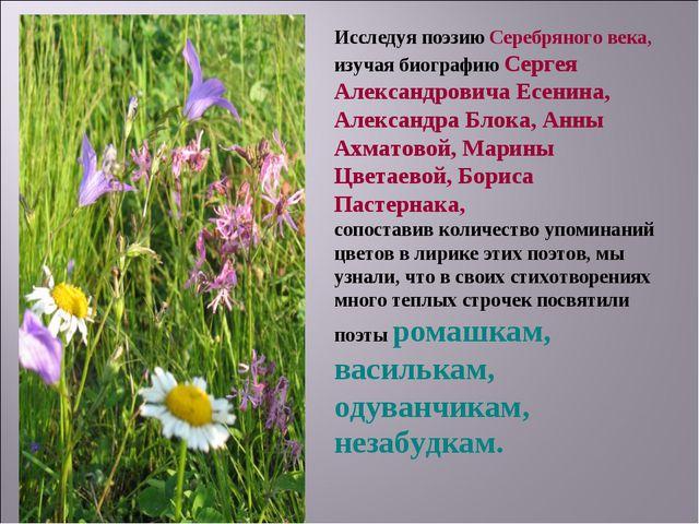 Исследуя поэзию Серебряного века, изучая биографию Сергея Александровича Есен...