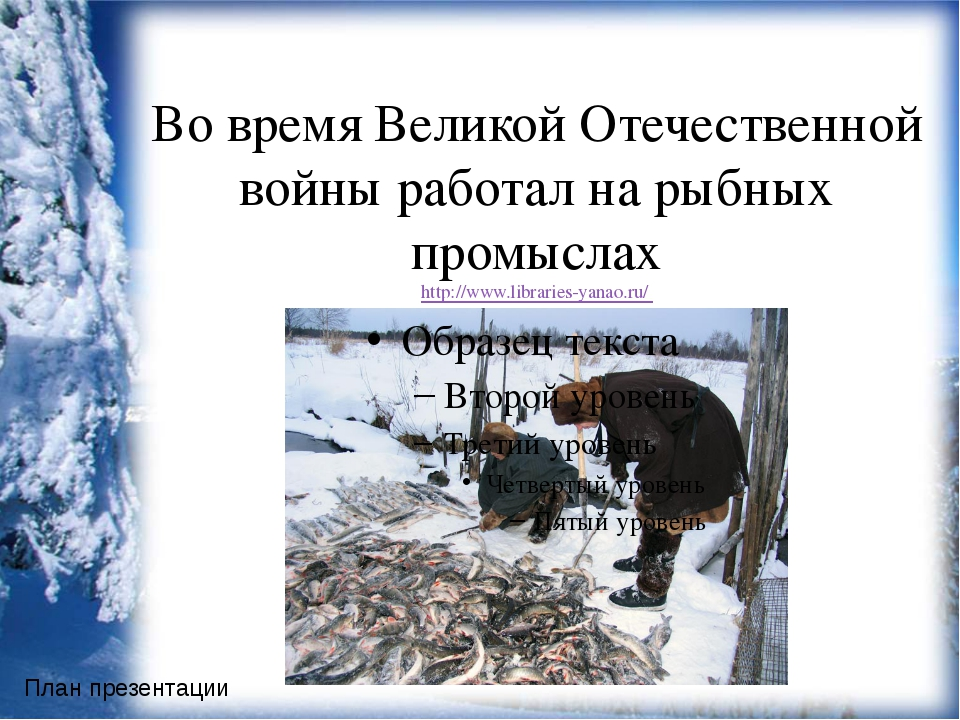 Во время Великой Отечественной войны работал на рыбных промыслах http://www....