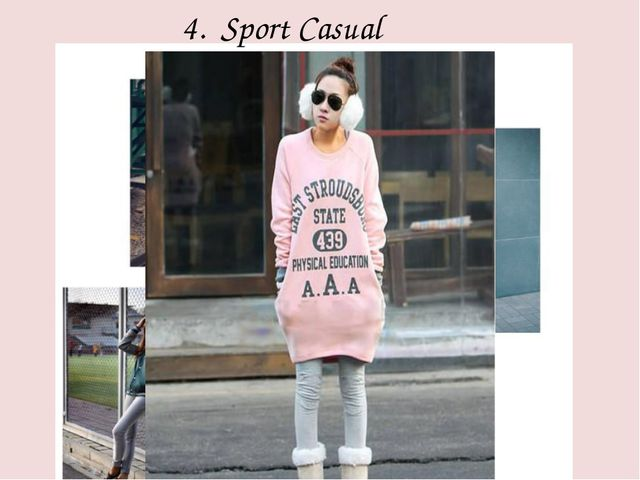 4. Sport Casual