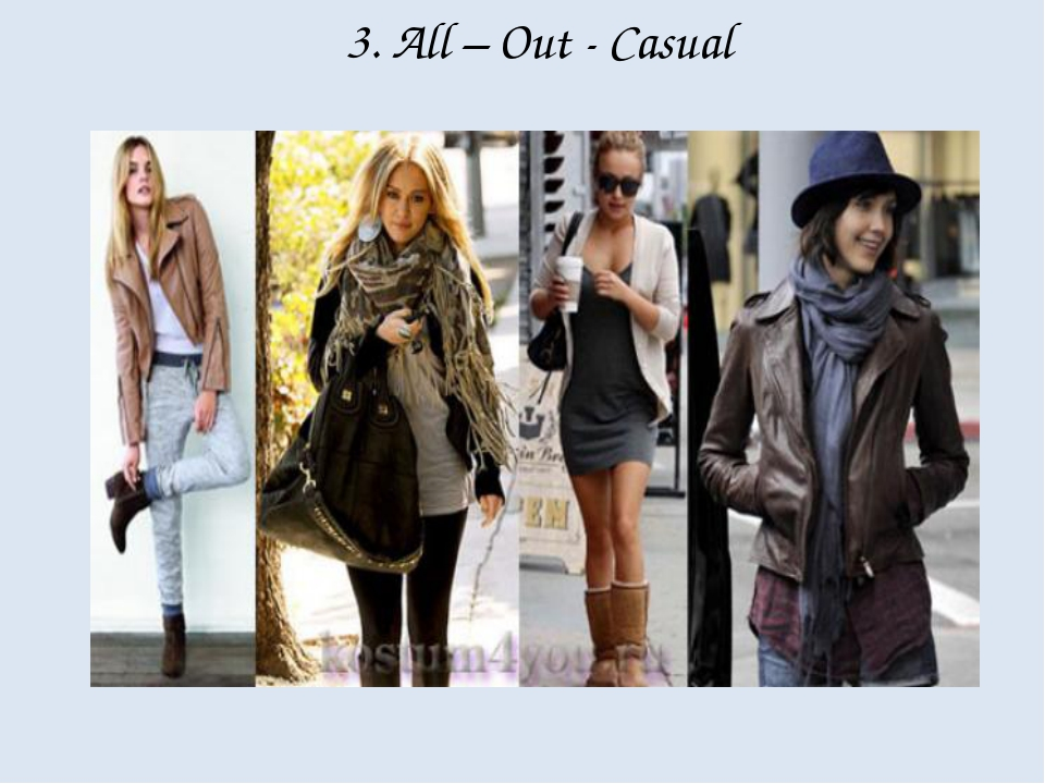 3. All – Out - Casual