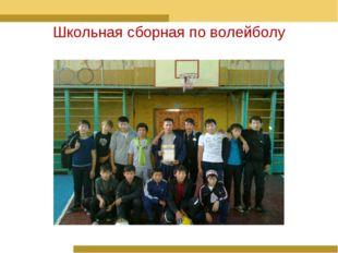 Школьная сборная по волейболу