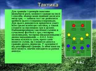 Для гравців і тренерів важливо визначити роль кожного гравця на полі і способ