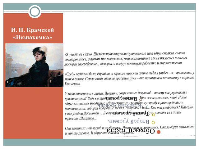 И. Н. Крамской «Незнакомка»