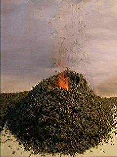 Химический вулкан (бихроматный)