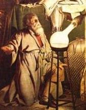 Хенниг Бранд (фрагмент картины Дж. Райта)