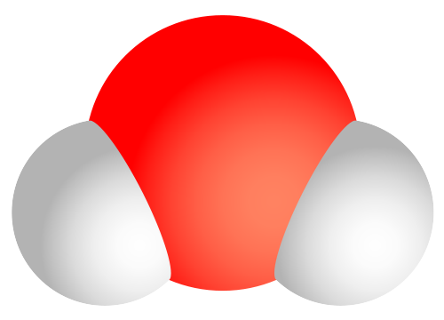 File:Water molecule.svg