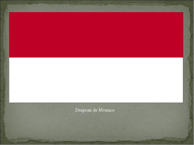 Drapeau de Monaco