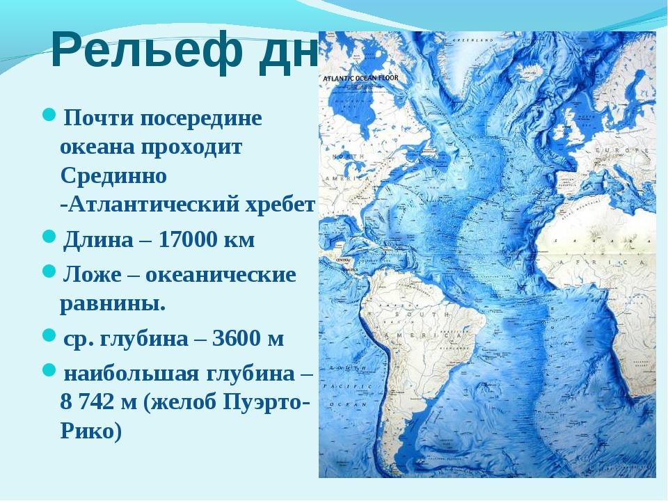 a geography of atlantic ocean