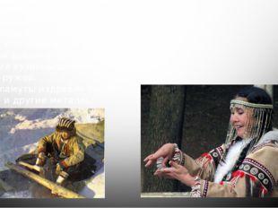Ремесло эвенов Мужчины занимались кузнечеством, обработкой кости и дерева, пл
