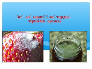 Зең саңырауқұлақтардың тіршілік ортасы