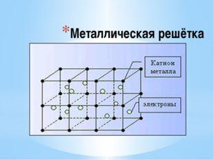 Металлическая решётка