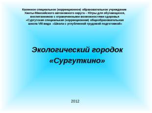 Казенное специальное (коррекционное) образовательное учреждение Ханты-Мансий