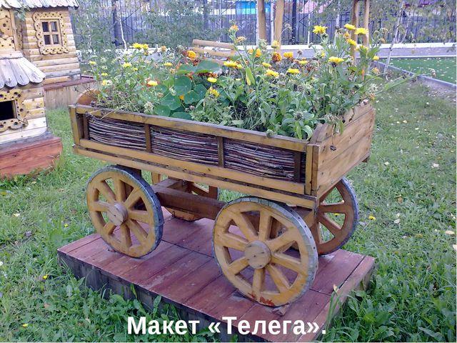Макет «Телега».