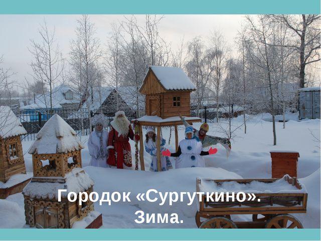Городок «Сургуткино». Зима.