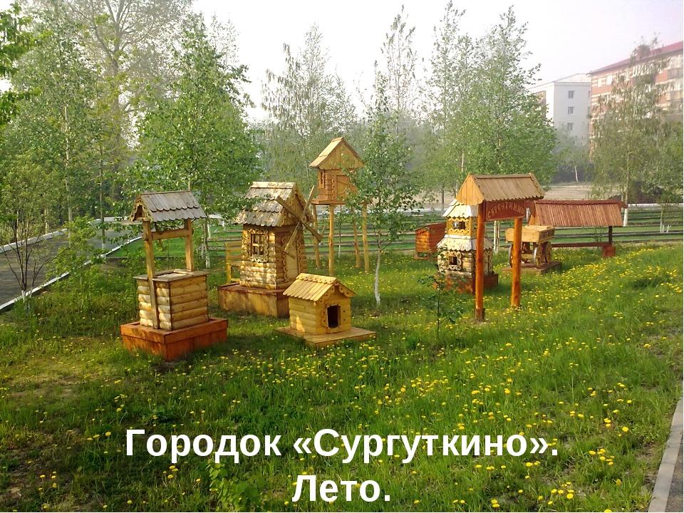Городок «Сургуткино». Лето.