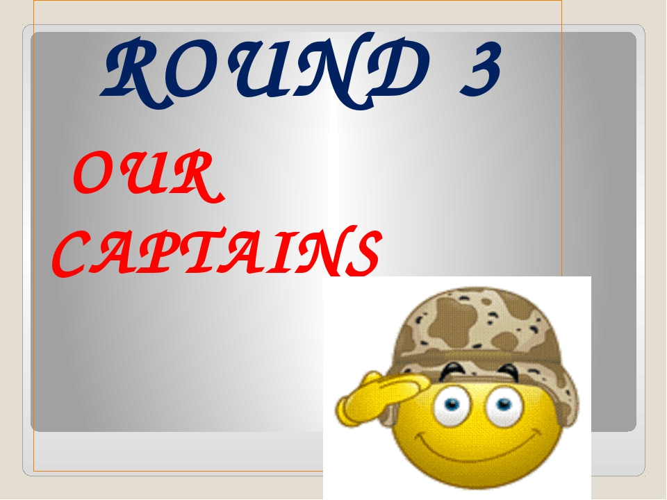 ROUND 3 OUR CAPTAINS
