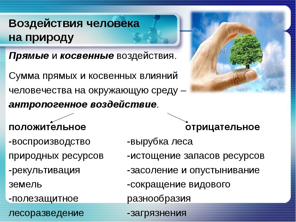 Доклад на тему взаимодействие человека с окружающей средой 2395