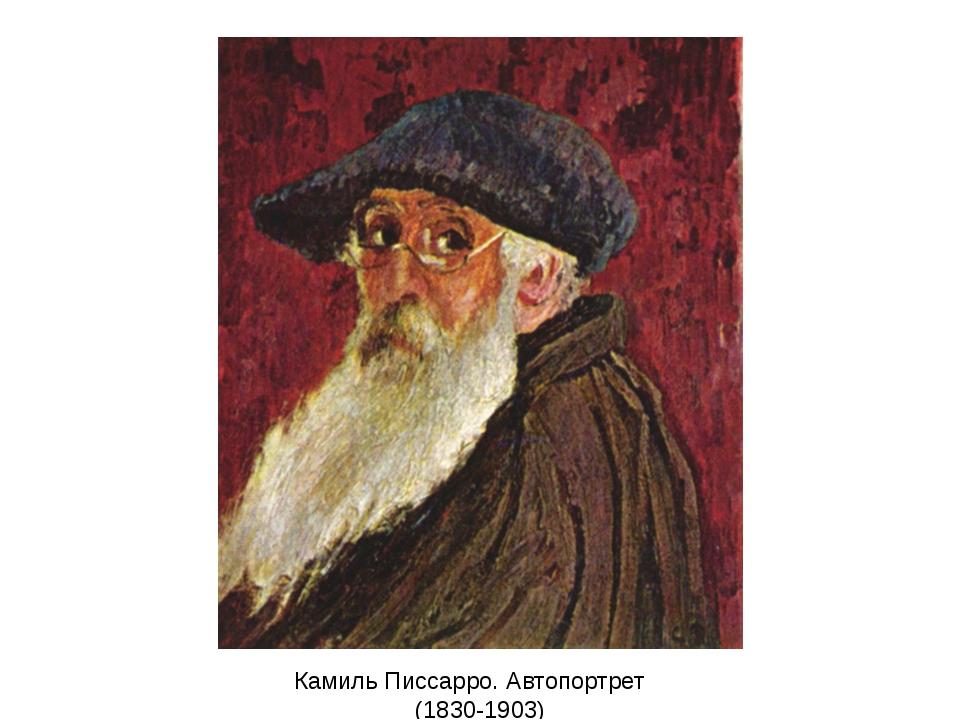 Камиль Писсарро. Автопортрет (1830-1903)