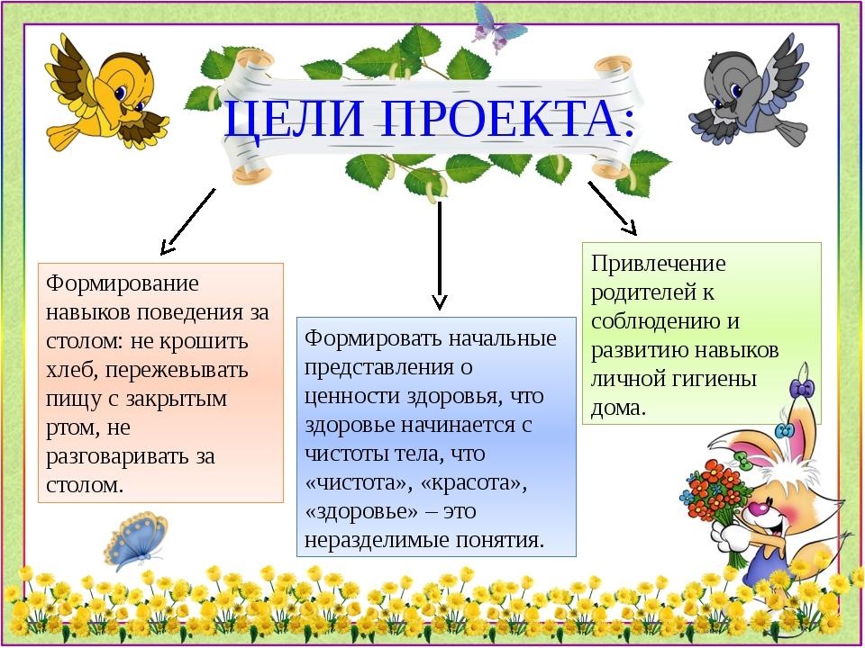 Привлечение родителей к соблюдению и развитию навыков личной гигиены дома. ЦЕ...
