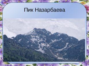 Пик Назарбаева