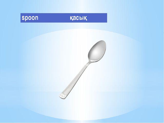 spoon қасық