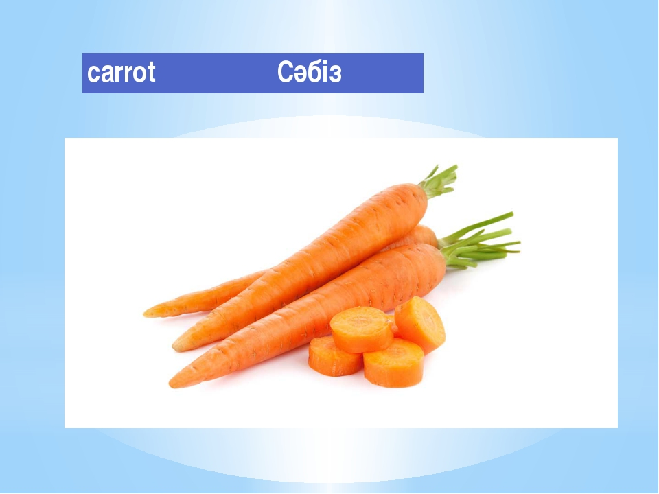 carrot Сәбіз