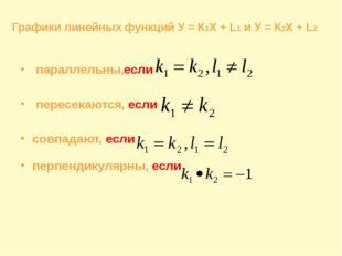параллельны,если пересекаются, если совпадают, если перпендикулярны, если Гр