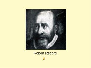 Robert Record