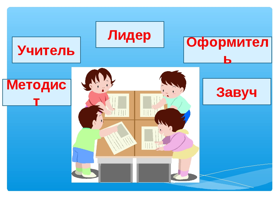Учитель Оформитель Завуч Методист Лидер