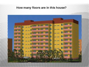 How many floors are in this house?